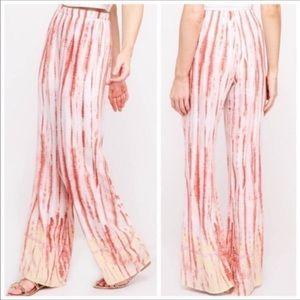 💃BOHO Palazzo Tie Dye Pants Boho Style Pants